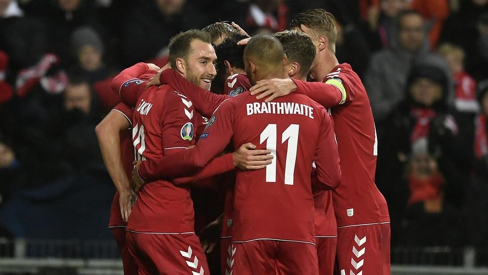 Отборът на Дания разгроми Гибралтар с 6:0 в двубой от