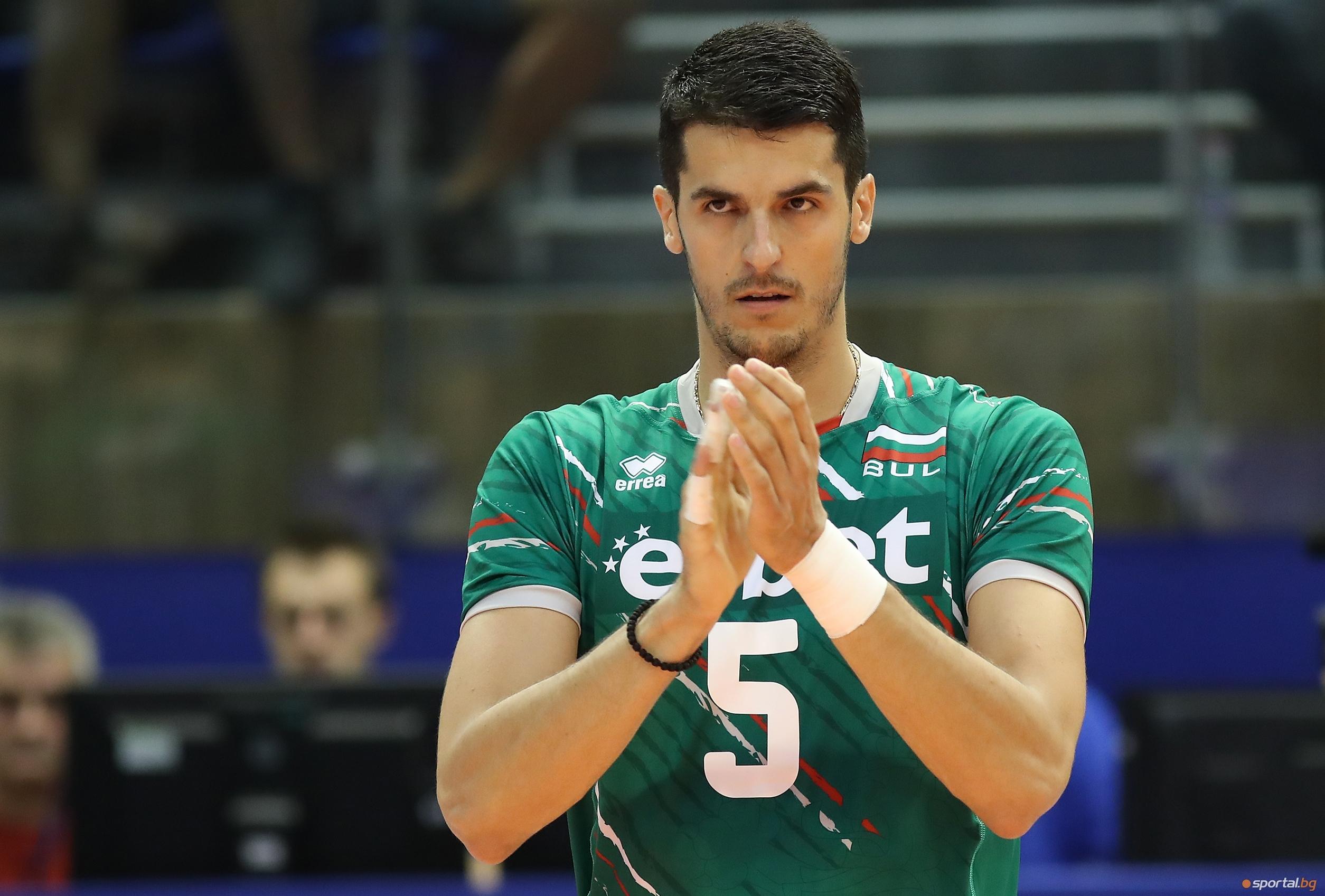 И през този сезон волейболният национал Светослав Гоцев избра руското