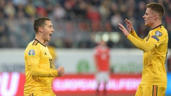 Отборът на Белгия записа поредна безпощадна победа в евроквалификациите, след