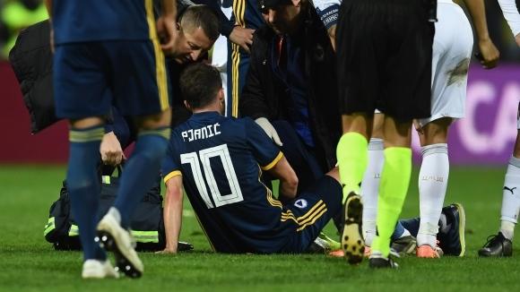 Халфът на Ювентус Миралем Пянич бе освободен от националния отбор