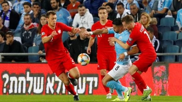 """Полша постигна трета поредна победа в група """"G"""" на европейските"""