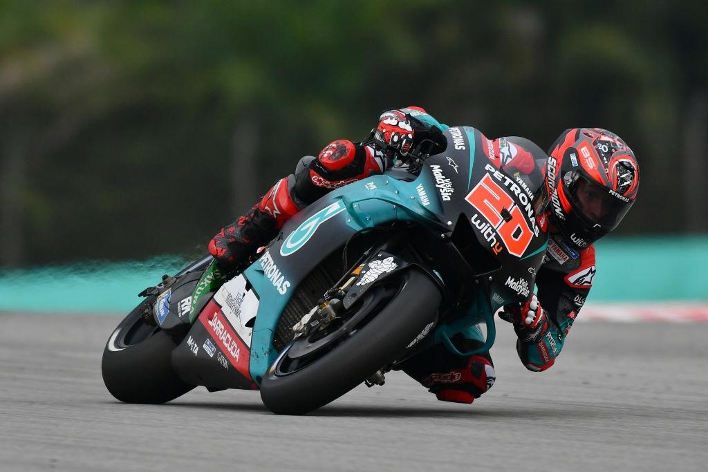 Сателитният пилот на Yamaha Фабио Куартараро се квалифицира за шести