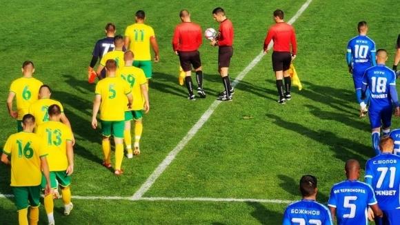 Отборът на Свиленград постигна страхотен успех с 2:0 над Черноморец
