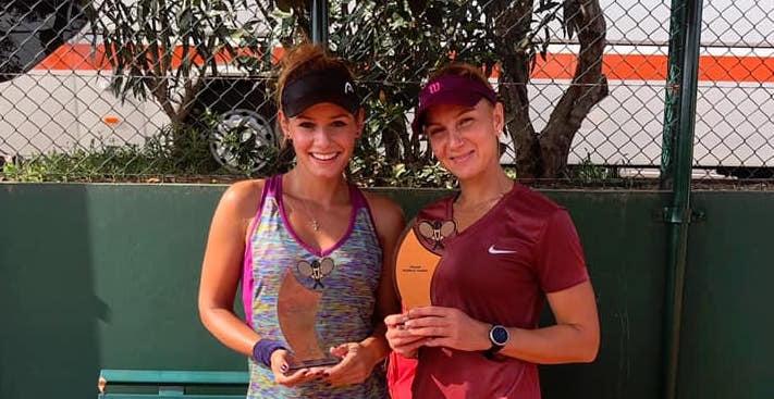 Българката Юлия Стаматова спечели титлата на двойки на турнира по