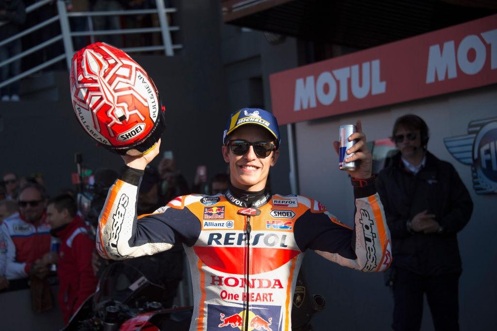 Световният шампион за сезон 2019 в MotoGP Марк Маркес проведе