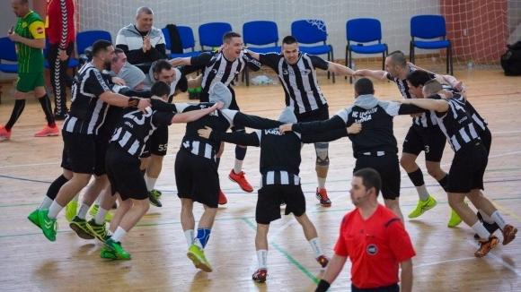 Шампионът Локомотив (Варна) се наложи над гостуващия Пирин 64 (Гоце