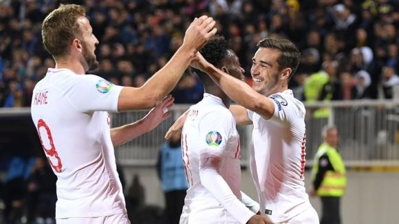 Англия постигна разгромна победа с 4:0 над Косово в последния