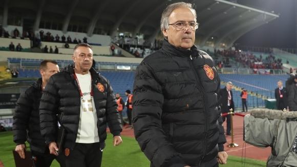 Селекционерът на България Георги Дерменджиев похвали футболистите си за постигнатата