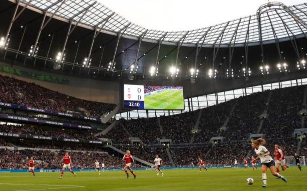Нов рекорд по посещаемост беше поставен в първенството по футбол