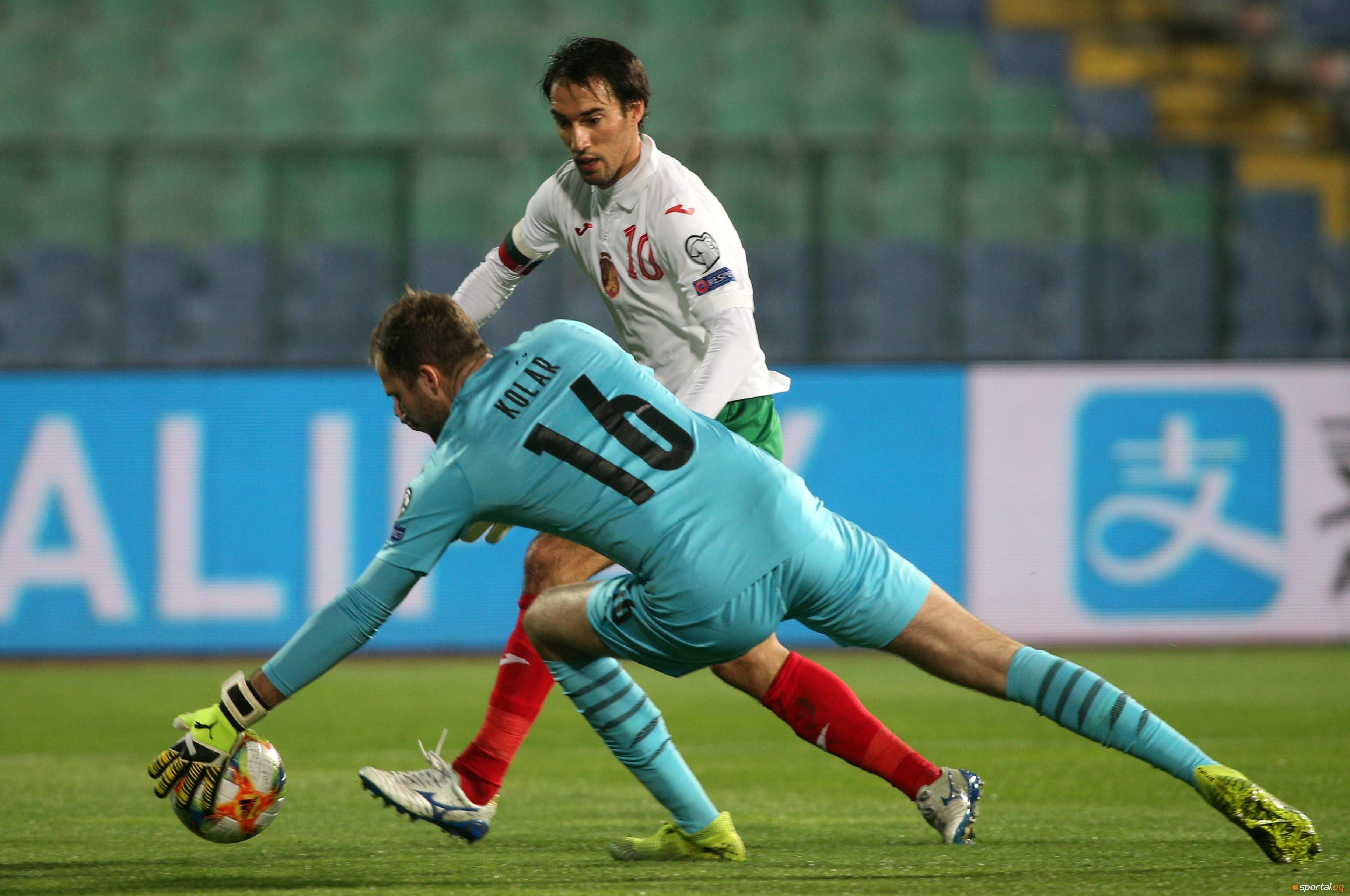Поражението с 0:1 в София вгорчи официалния дебют за чешкия