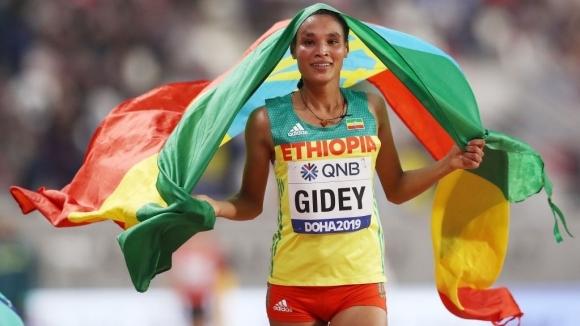 Леценбет Гиди подобри световния рекорд на 15 км на състезание