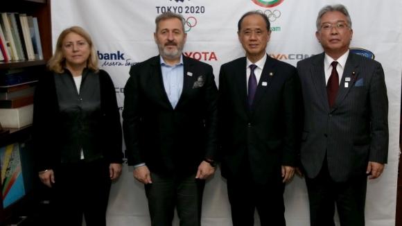 Генсекът на БОК Белчо Горанов се срещна с делегация от