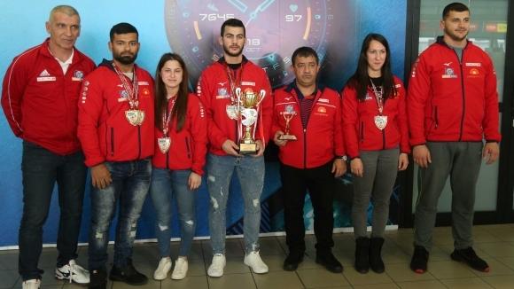 С огромна купа за четвърто място в крайното отборно класиране