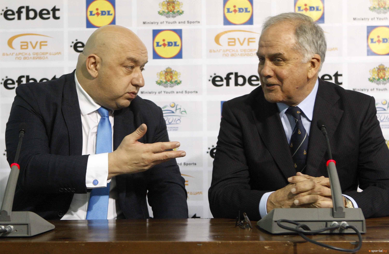 Спортният министър Красен Кралев направи специарно изявление относно събитията в