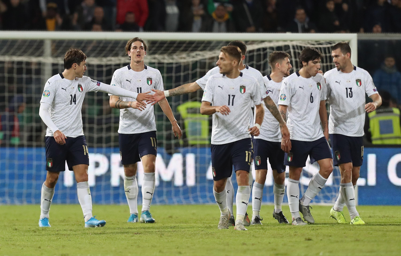 Италия завърши по впечатляващ начин европейските квалификации. Отборът, воден от