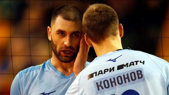 Националът Цветан Соколов и неговият Зенит (Казан) ще се срещне
