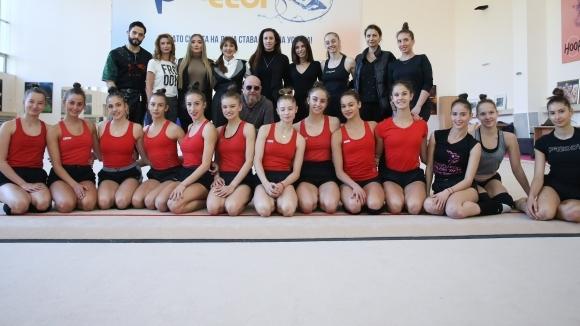 Националният отбор по художествена гимнастика ще организира голямо национално турне