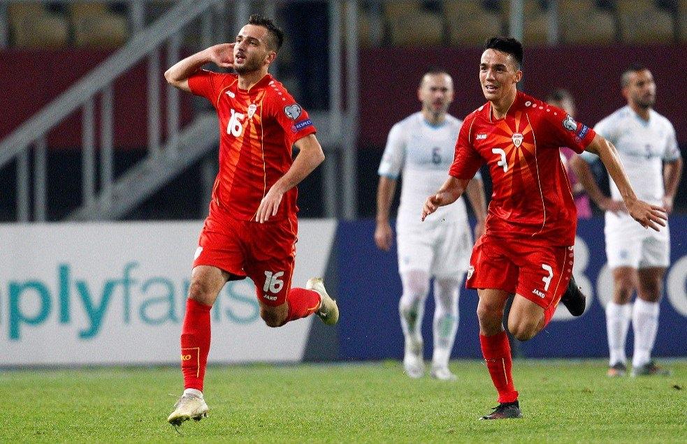 Отборът на Северна Македония надделя с 1:0 над Израел в