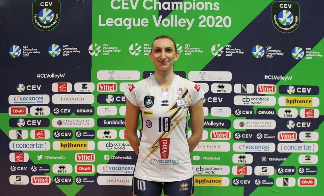 Българската националка Мира Тодорова изигра много силен мач за своя