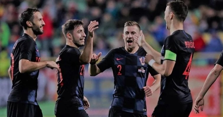 В последния си мач за 2019 година Хърватия победи с
