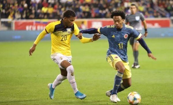 Koлумбия надви с 1:0 Еквадор в контрола и записа втора