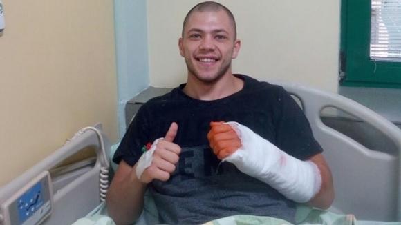 Един от най-перспективните професионални боксьори на България - великотърновеца Здравко