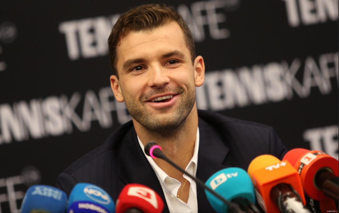 Най-добрият български тенисист Григор Димитров потвърди участие на турнира в