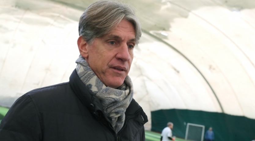Спортният директор на ЦСКА-София Кристиано Джарета се застъпи за наставника