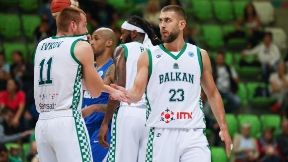 Баскетболистът на Балкан Алекс Симеонов бе сред най-резултатните за своя