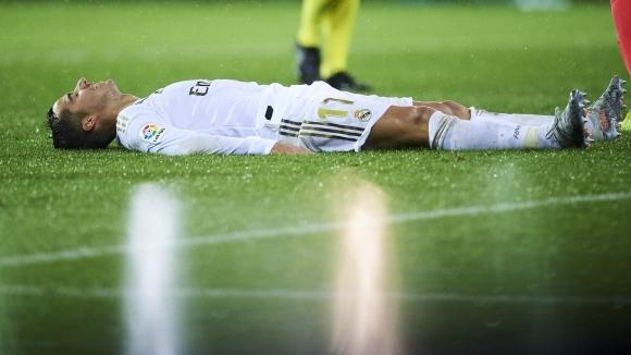 Крилото на Реал Мадрид Лукас Васкес си е счупил палеца