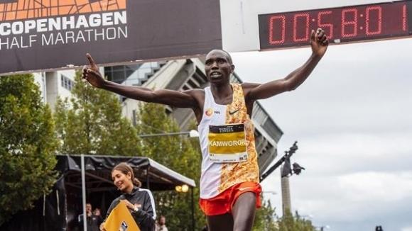 Световната атлетика ратифицира световния рекорд в полумаратона при мъжете на