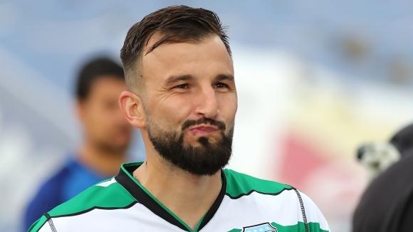 Футболистът на Черно море Васил Панайотов не попада често под