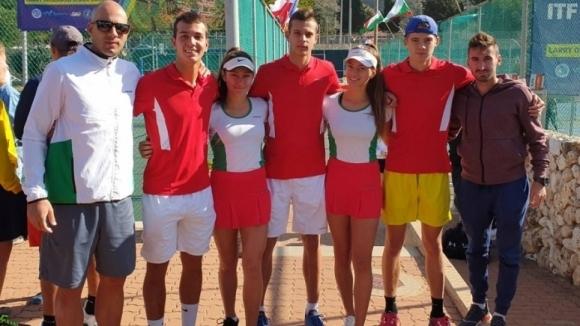 Младите български тенисисти Симеон Терзиев и Пьотр Несторов направиха нова
