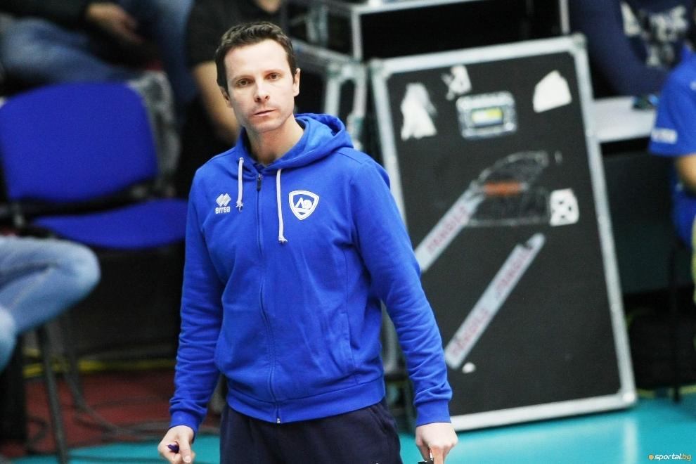 Треньорът на волейболния Левски Андрей Жеков остана много доволен от