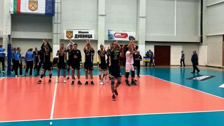 Волейболистите на Марек Юнион Ивкони (Дупница) записаха 4-а победа в