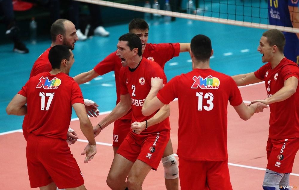 Волейболният отбор на ЦСКА постигна едва 3-а победа от началото