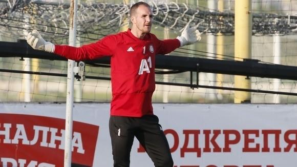 Бившият вратар на ЦСКА-София - Данте Стипица, продължава да се