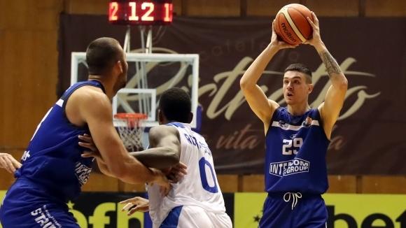 Черно море Тича записа третия си успех в Националната баскетболна