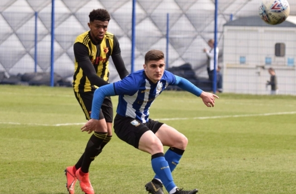 Българският нападател Преслав Боруков донесе победата с 1:0 на младежкия