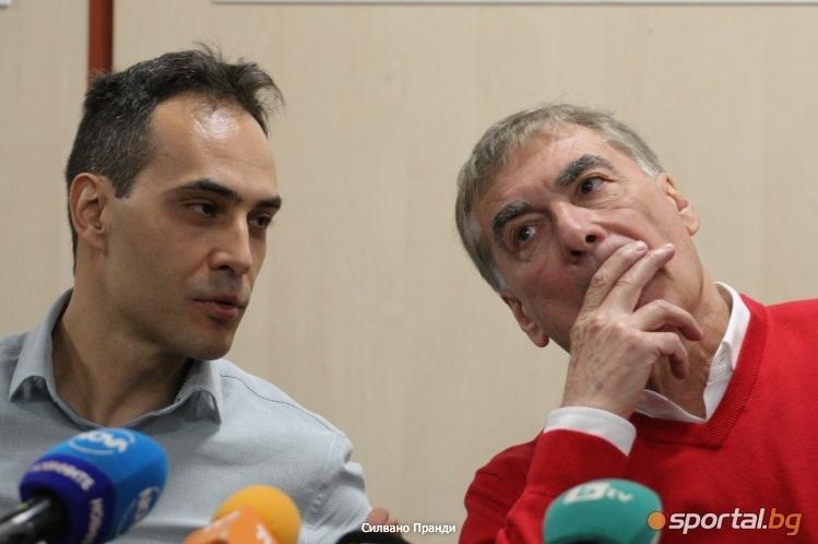 Стефан Чолаков е върнат като мениджър на националния отбор по