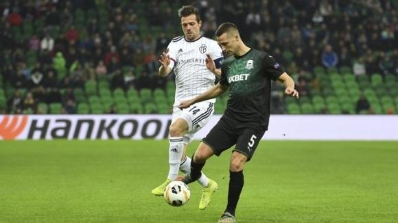 Отборът на Краснодар постигна минимална победа с 1:0 при домакинството