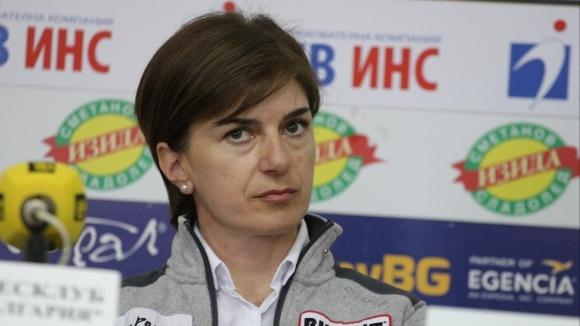 Президентът на Българската федерация по биатлон Екатерина Дафовска си пожела