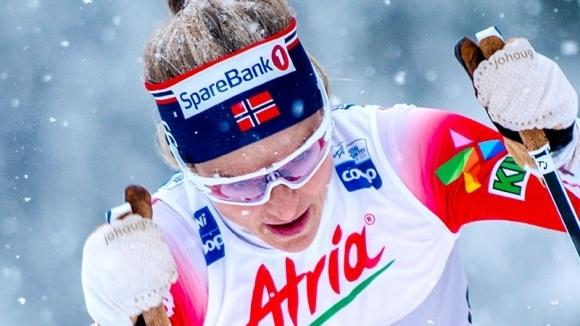 Голямата норвежка звезда при жените в ски бягането Терезе Йохауг