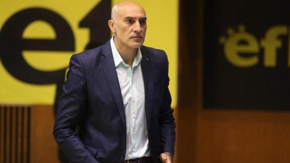 Любомир Минчев очаквано не беше доволен от представянето на баскетболистите