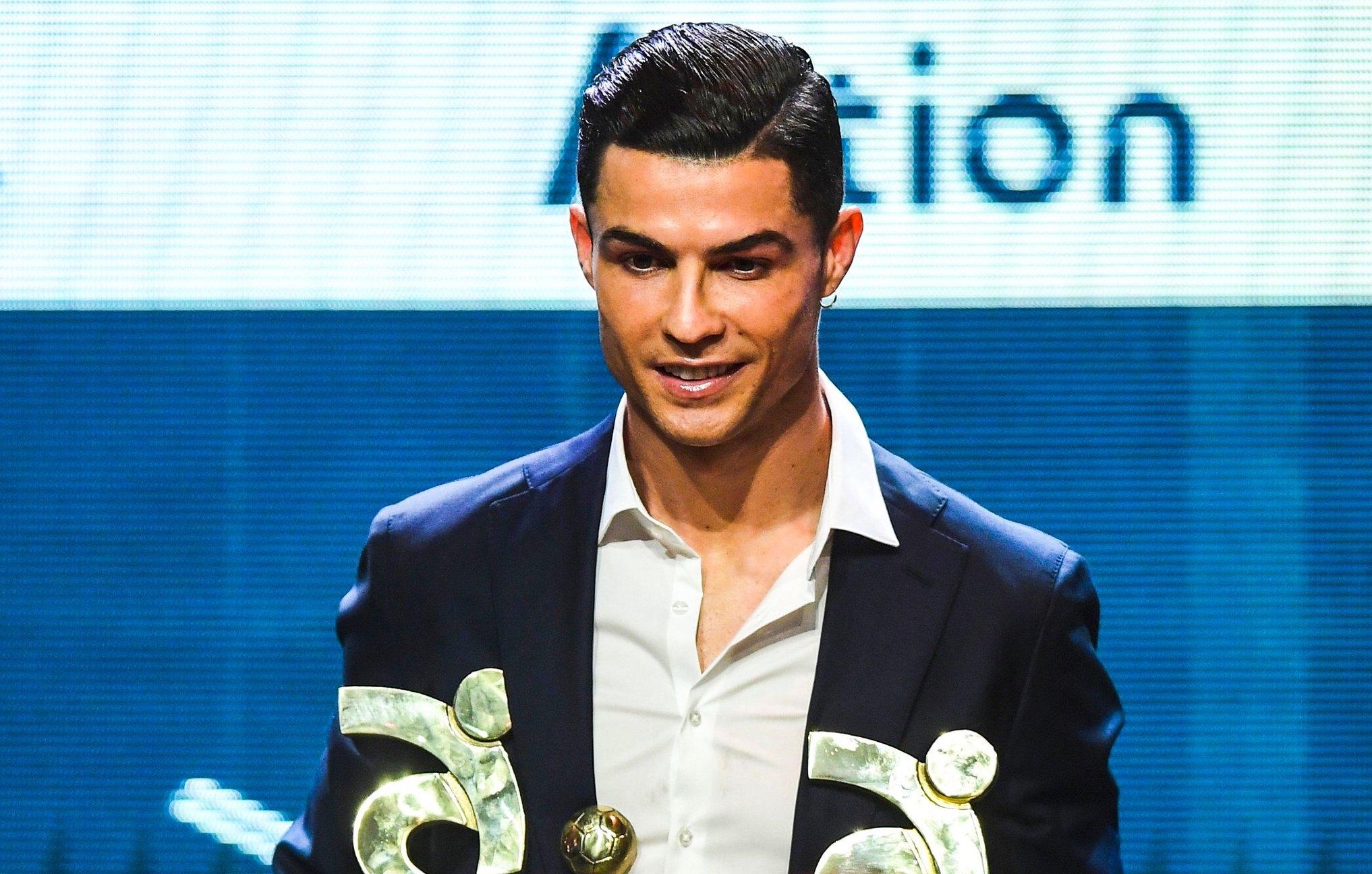 """Кристиано Роналдо беше избран за най-добър футболист в Серия """"А"""""""