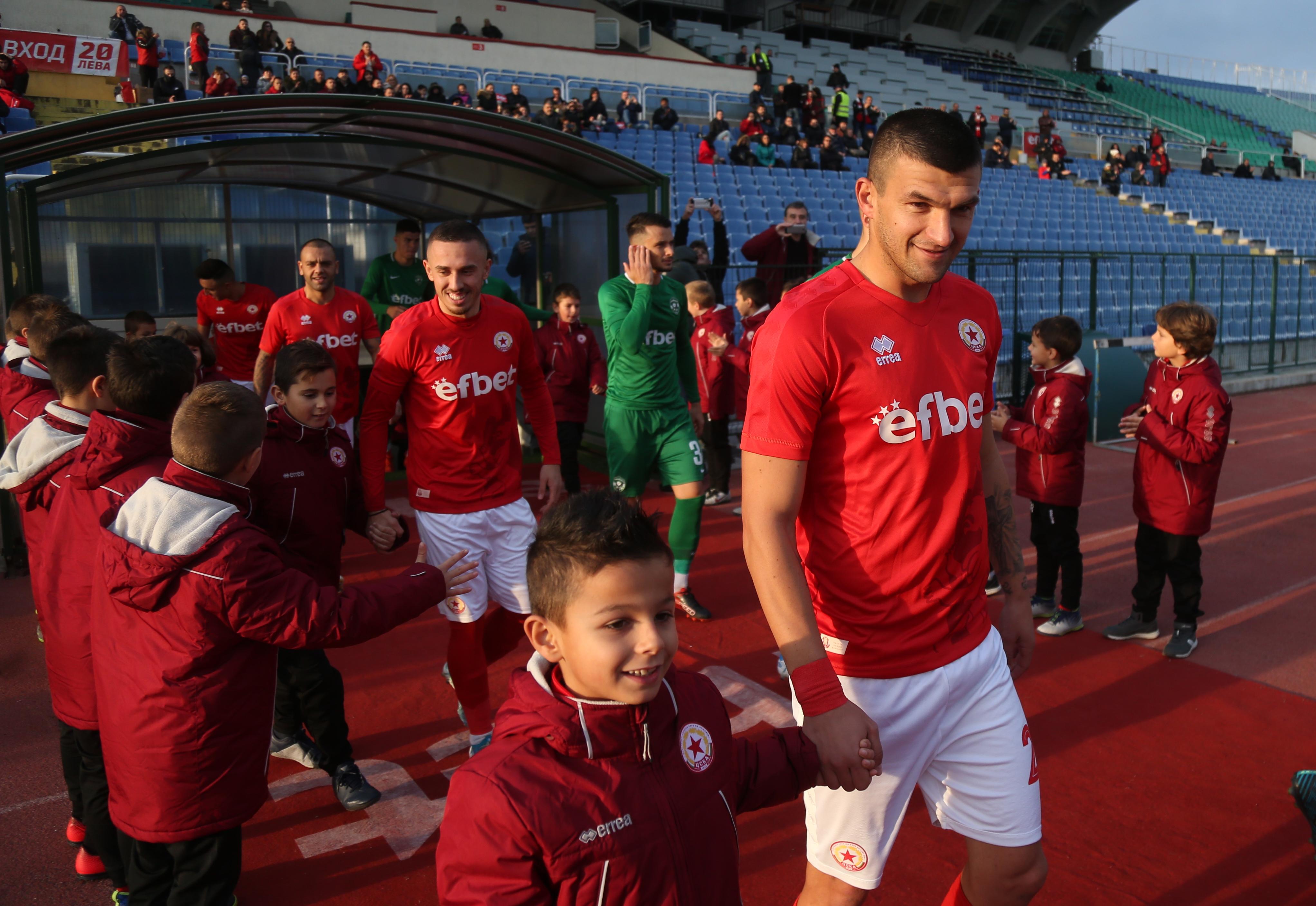 Венцислав Василев е сред най-опитните футболисти не само в ЦСКА