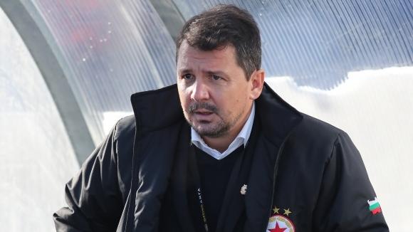 Наставникът на ЦСКА-София Милош Крушчич говори след победата с 1:0