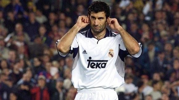 Бившият футболист на Барселона и Реал Мадрид Луиш Фиго не