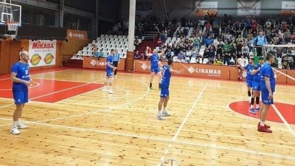 Волейболистите на Дунав (Русе) се класираха за финалите на турнира