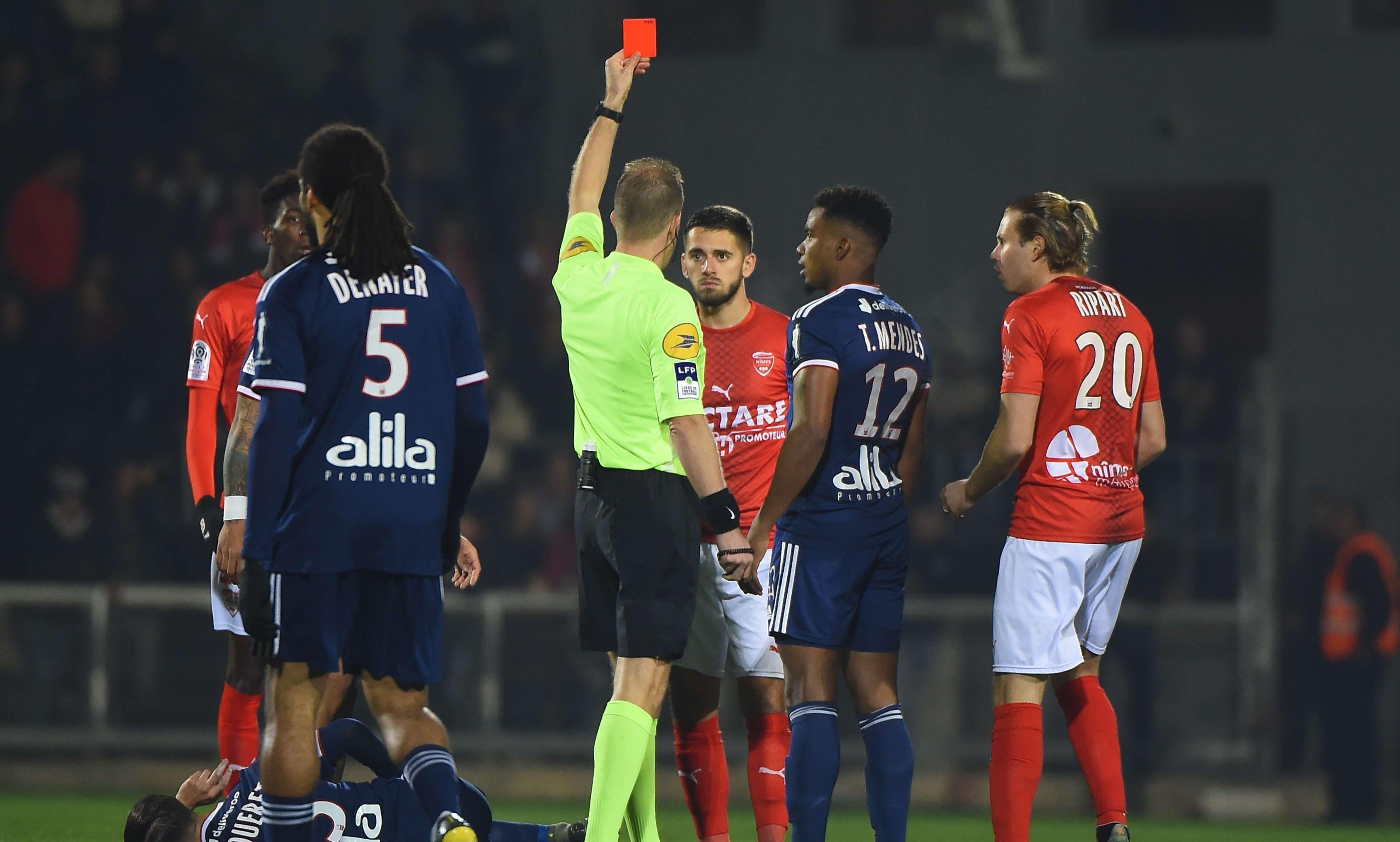 Аутсайдерът в Лига 1 Ним отнесе нова тежка загуба. Преди